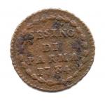 reverse: GRAN DUCATO DI TOSCANA. Leopoldo II. 5 Quattrini 1830. Cu. QSPL. Rara.