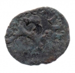 reverse: PISA. 1313-1404. Monetazione sotto Federico II. Quattrino. Cu. qBB. NC.