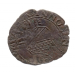 reverse: ROMA. INNOCENZO VIII. 1484-1492. Quattrino. Cu. MB. NC.