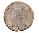 obverse: ROMA. Paolo V. 1605-1621. Testone 1606. AG. MB. Rara.