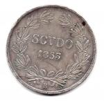 reverse: STATO PONTIFICIO. Pio IX. Scudo 1853, An. VIII. qSPL. Colpetti.