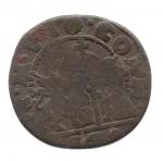 obverse: VENEZIA. G. Coroner. 1625-1629. 1 Soldo. Cu. MB.