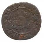 reverse: VENEZIA. G. Coroner. 1625-1629. 1 Soldo. Cu. MB.