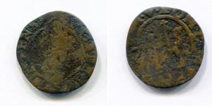 obverse: VENEZIA. Corner (1625/99). 1 Soldo. Cu. MB.
