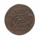 obverse: GORIZIA. 1 Soldo 1788 F. Cu. BB+. NC.