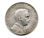 obverse: ITALIA. Regno d'Italia. LIRE 2 del 1910. Quadriga Veloce. qBB. Rara.