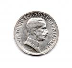 """obverse: Regno d'Italia. Vittorio Emanuele 3° (1900-1943). Lire 1 del 1916 """"quadriga briosa"""". Ag. Rara. Ottima conservazione!."""