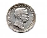 """obverse: Regno d'Italia. Vittorio Emanuele 3° (1900-1943). Lire 1 del 1917 """"quadriga briosa"""". Ag. Ottima conservazione!"""