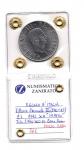 reverse: Regno d'Italia. Vittorio Emanuele 3° (1900-1943). Lire 2 del 1942 XX. Impero. AC. FDC. RR/R2. Sigillata.
