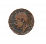 obverse: Regno d'Italia. Vittorio Emanuele 3° (1900-1943). 5 Cent 1919. Spiga. NC. Discreta.