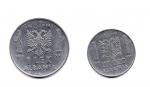 reverse: Regno d Italia. Vittorio Emanuele 3°. Albania. Lotto 02 monete: 1 Lek 1939 + 0,20 lek 1941. Discrete.