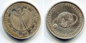 obverse: GERMANIA. 10 Euro 2006. AG. SPL.