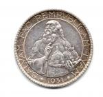 obverse: SAN MARINO. Vecchia monetazione. Lire 20 1931. AG. Discreta. NC.