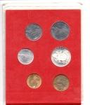 reverse: Vaticano. Folder Ufficiale del 1979 con 7 monete FDC (di cui una in argento). (Val. Cat.: 20€)