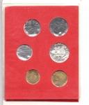 reverse: Vaticano. Folder Ufficiale del 1980 con 7 monete FDC (di cui una in argento). (Val. Cat.: 20€)