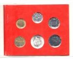 reverse: Vaticano. Folder Ufficiale del 1981 con 7 monete FDC (di cui una in argento). (Val. Cat.: 20€)