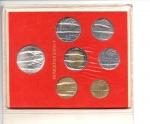 obverse: Vaticano. Folder Ufficiale del 1983 con 7 monete FDC (di cui una in argento). (Val. Cat.: 25€)