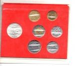 reverse: Vaticano. Folder Ufficiale del 1983 con 7 monete FDC (di cui una in argento). (Val. Cat.: 25€)