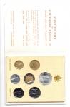 obverse: Vaticano. Folder Ufficiale del 1984 con 7 monete FDC (di cui una in argento). (Val. Cat.: 25€)