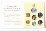 obverse: Vaticano. Folder Ufficiale del 1985 con 7 monete FDC (di cui una in argento). (Val. Cat.: 30€)