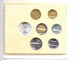 reverse: Vaticano. Folder Ufficiale del 1985 con 7 monete FDC (di cui una in argento). (Val. Cat.: 30€)