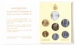 obverse: Vaticano. Folder Ufficiale del 1986 con 7 monete FDC (di cui una in argento). (Val. Cat.: 30€)