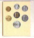 reverse: Vaticano. Folder Ufficiale del 1986 con 7 monete FDC (di cui una in argento). (Val. Cat.: 30€)