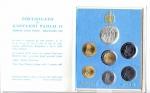 obverse: Vaticano. Folder Ufficiale del 1987 con 7 monete FDC (di cui una in argento). (Val. Cat.: 30€)