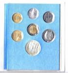 reverse: Vaticano. Folder Ufficiale del 1987 con 7 monete FDC (di cui una in argento). (Val. Cat.: 30€)