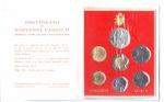obverse: Vaticano. Folder Ufficiale del 1988 con 7 monete FDC (di cui una in argento). (Val. Cat.: 30€)