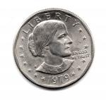 obverse: USA. One Dollar 1979.