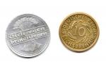 reverse: GERMANIA. Lotto 02 monete diverse. Anni  20. Vedi foto per dettagli.
