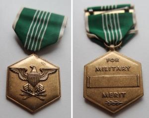 """obverse: MEDAGLIE MILITARI. """"For Military Merit."""" Vedi foto per conservazione e dettagli."""