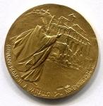 obverse: VARALLO. 1984. S. Carlo Borromeo. Medaglia celebrativa emessa durante il pontificato di Giovanni Paolo II per la visita a Varallo. AU Oro 18 KT 10,22 gr.