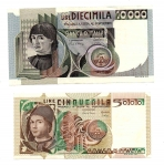 D/ Lotto 02 banconote da SPL+ a qFDS. Vedi foto per dettagli.