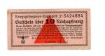 obverse: Germania. WWII, 10 Reichspfennig - Prigionieri di Guerra, lager. Splendida. Non Comune.