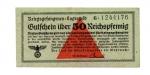 obverse: Germania. WWII, 50 Reichspfennig - Prigionieri di Guerra, lager. Splendida. Non Comune.