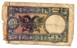 obverse: Occupazione Italiana. Albania. Cinque Franchi 1939. Molto Ciroclata ma Non Comune.