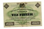 reverse: Austria/Ungheria. SOMORJA. 10 Heller 1916. ciroclata ma rara!