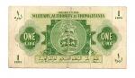obverse: MILITARY AUTHORITY in TRIPOLITANIA. ONE LIRA 1943. Occupazione Inglese. Circolata ma rara!