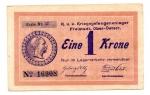 reverse: Eine 1 Krone 1915. Ottima conservazione. NC.