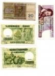 obverse: BELGIO. Lotto 04 banconote molto inetressanti per tipologia e date. Vedi foto per dettagli!