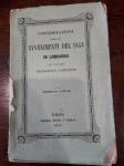 reverse: CONSIDERAZIONI AVVENIMENTI 1848 IN LOMBARDIA. 1849 Francesco Lorenzini. Torino. Pagine 139. Usura del tempo, conservazione quasi gradevole ma sempre affascinante.