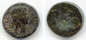 obverse: AUGUSTO (27 a.C. – 14 d.C.), Lugdunum, 15-13 a.C.. AR Denarius (2,42 gr – 16,3 mm). D.\: AVGVSTVS DIVI F; R.\: IMP X - either side of Apollo Citharoedus standing left with lyre, ACT in ex. BMC 461; RIC 171a. MB scarso. R.