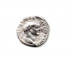 obverse: VESPASIANO (68-79), Roma. AR Denarius (2,90 gr.). R.\: COS V - aquila con ali aperte con testa a sinistra. qBB.