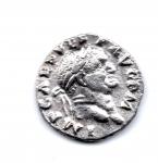 obverse: VESPASIANO (68-79), Roma. AR Denarius (3,19 gr.). R.\: AVGVR TRI POT - strumenti sacrificali. BB+. BMC 64. BN 50. Cohen 45. RIC 42.