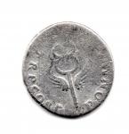 reverse: VESPASIANO (68-79), Roma. AR Denarius (2,94 gr.). R.\: PONT MAX TRP COS V - Caduceo alato. RIC II, 703. MC.