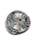 obverse: ADRIANO (117-138). Roma. AR Denarius (3,44 gr.). R.\: COS II. qBB.