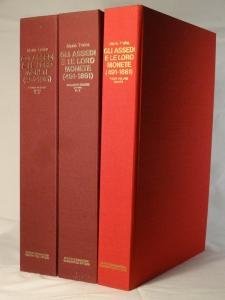 D/ Traina Mario. Gli assedi e le loro Monete (491-1861) 3 Volumi. Ed. Giannantoni, Bologna, 1977 Raro 1480 pp., 511 tavv.