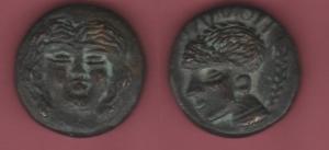 obverse: Mondo Greco. Moneta in bronzo 44 gr. (NON SI ACCETTANO RESI)